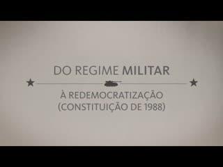 A história do poder legislativo: do regime militar à redemocratização