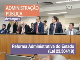Relatório Institucional 2019 - Administração Pública