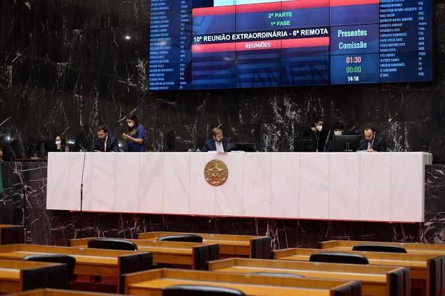 O PL 1.661/20, do deputado Alencar da Silveira Jr. (PDT), foi aprovado no Plenário, de forma remota, na última quinta (16) - Arquivo ALMG