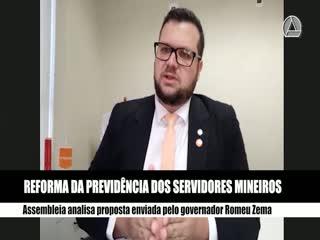 Reforma da Previdência dos servidores de Minas Gerais