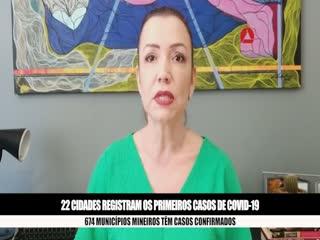 Coronavírus chega a 674 cidades mineiras