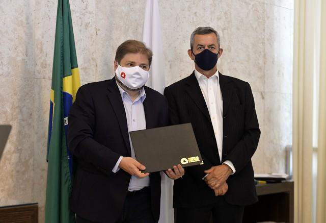 Promulgação da Emenda 104, de 2020, que trata da reforma da previdência dos servidores civis de Minas Gerais