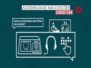 Eleições 2020: acessibilidade para votar