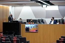 Comissão de Participação Popular - debate sobre a proposta de regionalização do saneamento básico