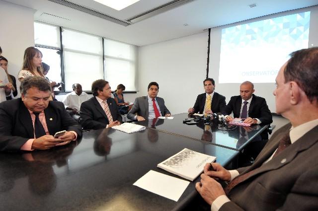 Oposicionistas questionaram o diagnóstico da situação do Estado apresentado pelo governador Fernando Pimentel